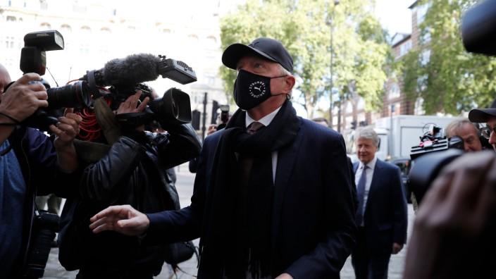 Boris Becker erscheint vor dem Magistrates' Court von Westminster