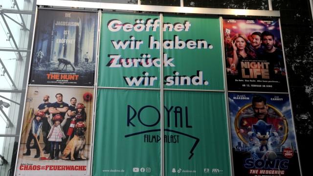 Royal Filmpalast in München öffnet nach Lockerungen in der Corona-Krise wieder, 2020