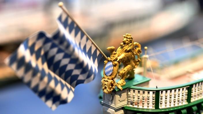 Starnberg, Museum Starnberger See, Ausstellung Dampfer Modelle