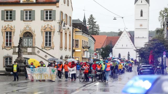 FÜRSTENFELDBRUCK:  Demonstration von Fridays for Future FFB