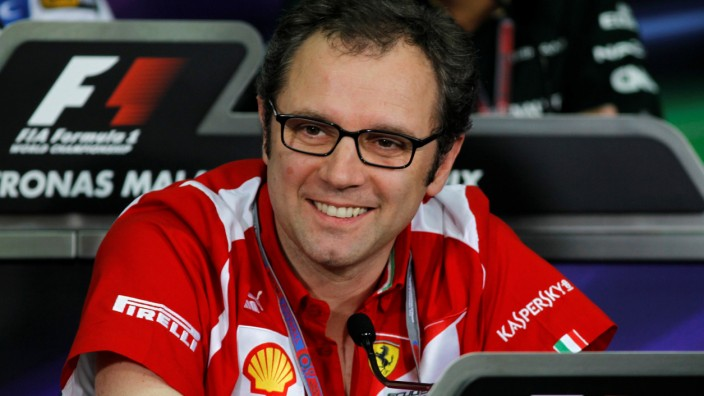 FILE PHOTO: Ferrari Formula One team principal Domenicali attends a news conference after the second practice session of the Malaysian F1 Grand Prix at Sepang International Circuit