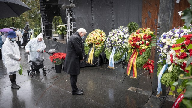 Commemoration Of The Oktoberfest Terrorist Attack 40 Years Ago