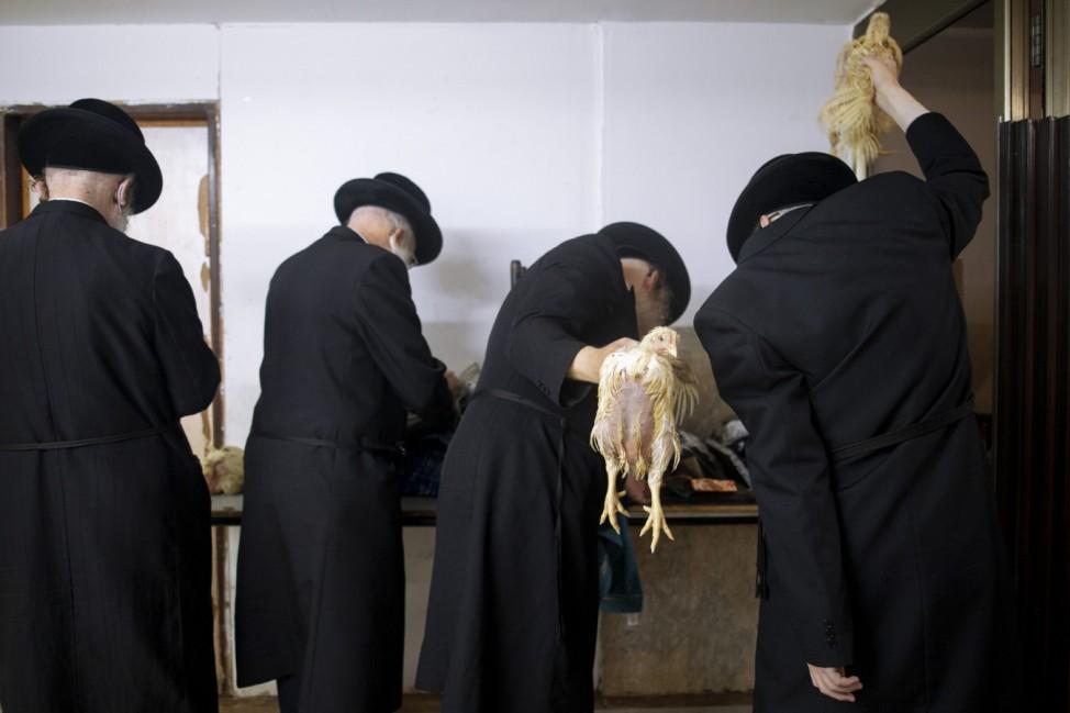 Vor Jom Kippur in Israel