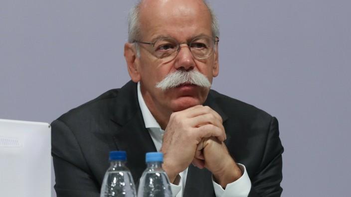 Hannover: Vorstandsvorsitzender der Daimler AG, Dieter Zetsche während der Hauptversammlung der Tui AG, *** Chairman of