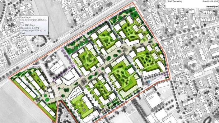 Rahmenplan Kreuzlinger Feld