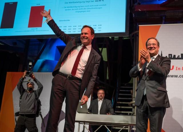 Stichwahlen Nordrhein-Westfalen - Düsseldorf