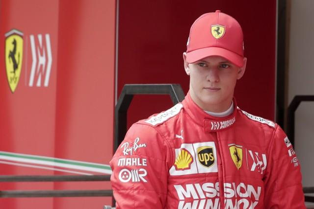 Formel-2-Pilot Mick Schumacher