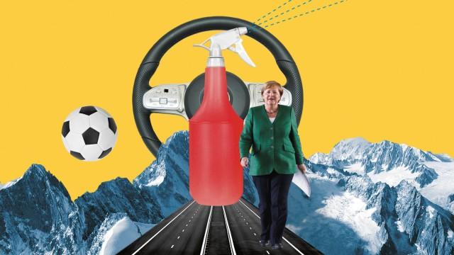 Feuilleton, Wie die Welt Deutschland sieht, Collage: Stefan Dimitrov
