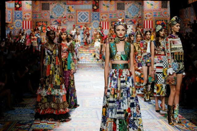 Dolce & Gabbana Spring/Summer 2021 women's collection