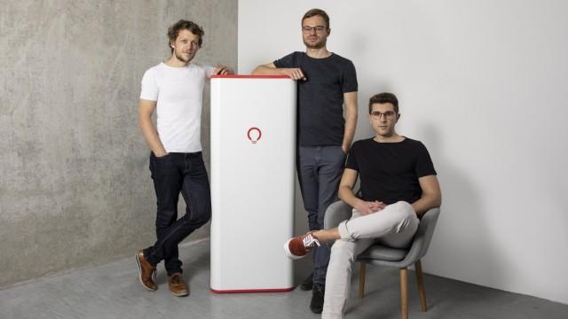 VoltStorage Gründer Jakob Bitner, Felix Kiefl, Michael Peither; Volt Storage
