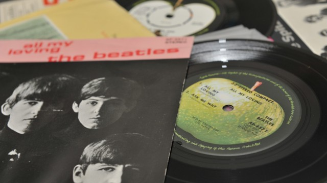 """Schallplattenladen """"Best Records"""" in München, 2012"""