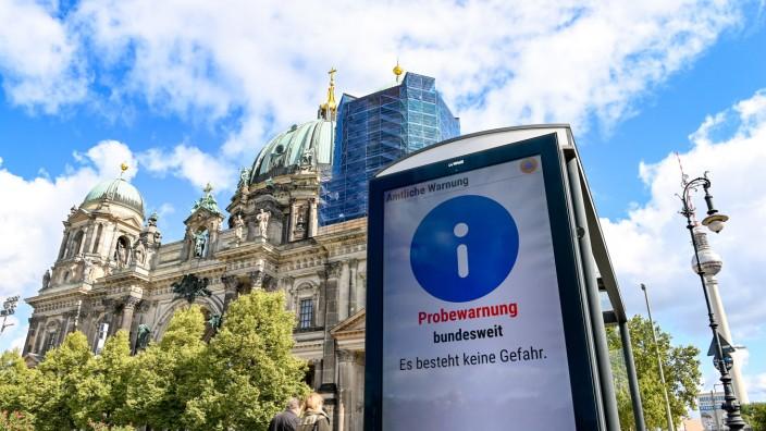 Bundesweiter Warntag -  Berlin