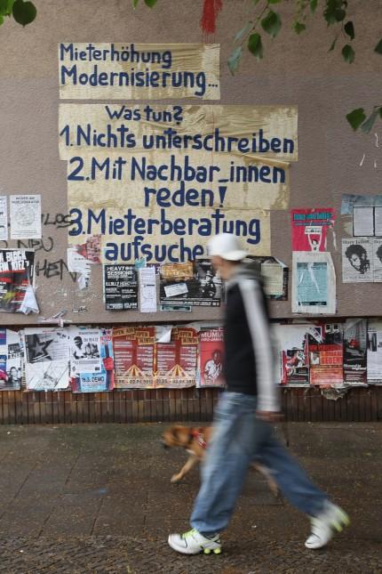 Gentrification Fears Stir Unrest In Berlin