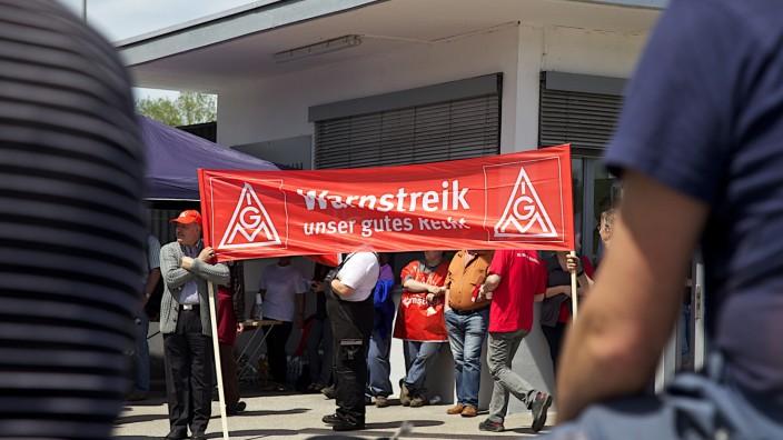Streik Hörmann Penzberg