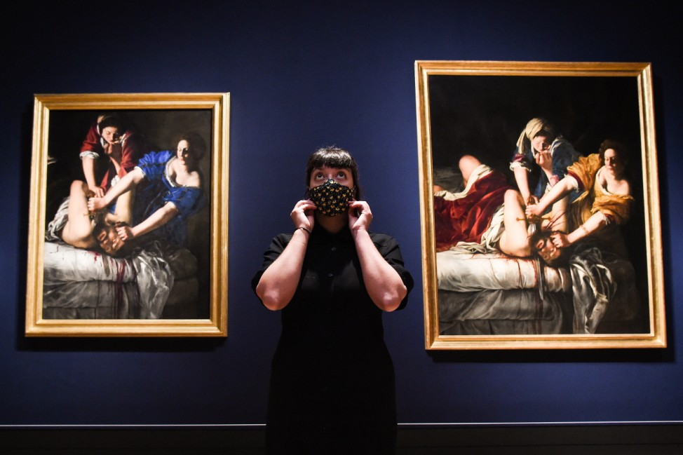 BESTPIX - 'Artemisia' Exhibition At The National Gallery - Press View