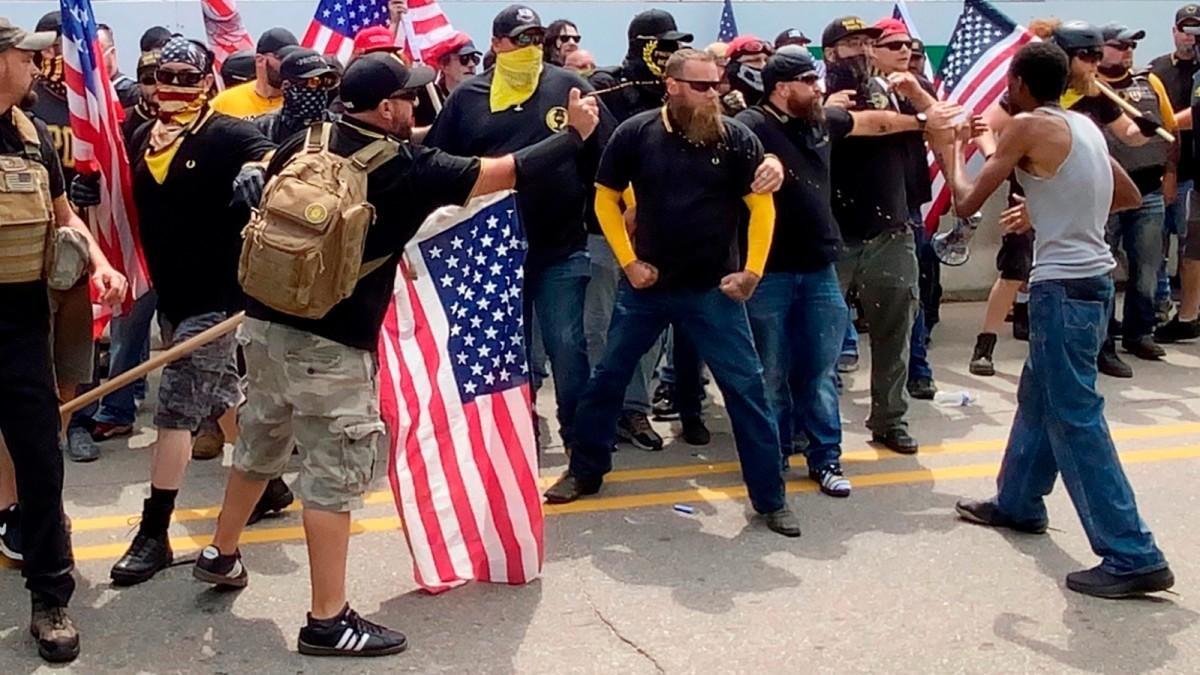 US-Wahl: Trump begeistert rechte Hassgruppe