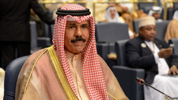 Kuwait s Crown Prince Sheikh Nawaf Al-Ahmed Al-Sabah