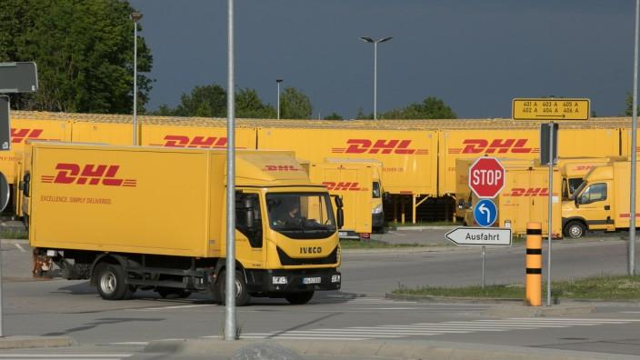 DHL-Paketzentrum in Aschheim, 2020