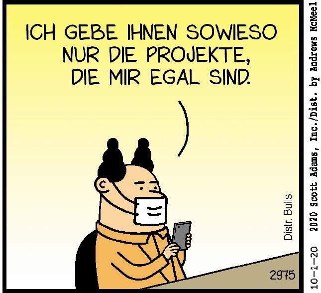 Comic Dilbert Peanuts