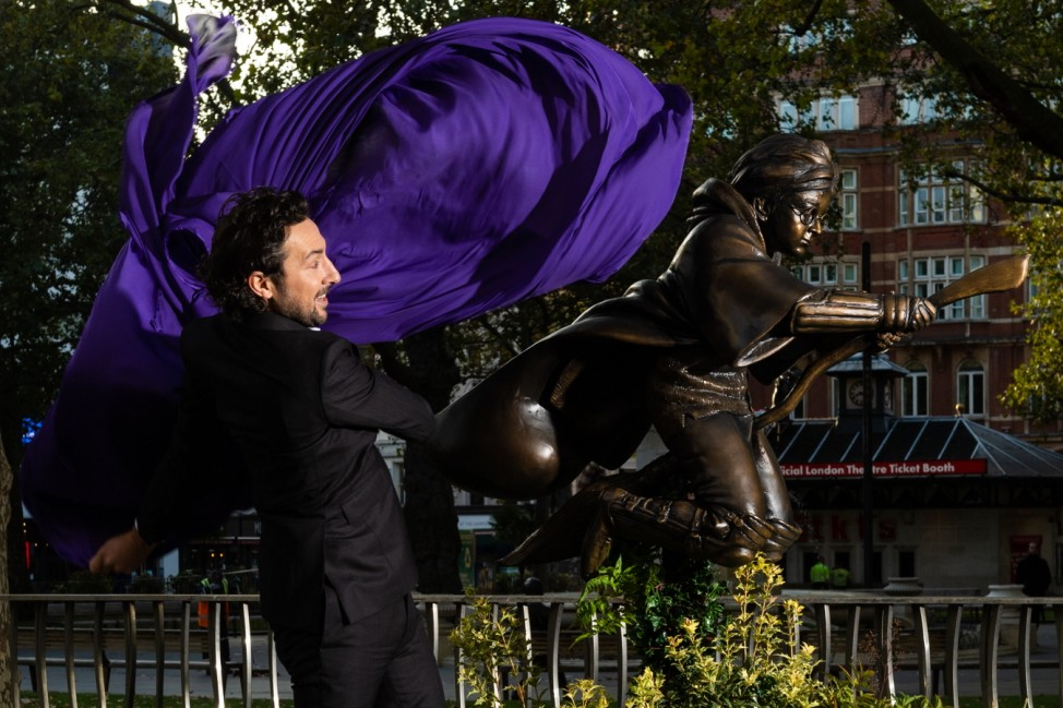 BESTPIX - Harry Potter Statue Unveiling In Leicester Square
