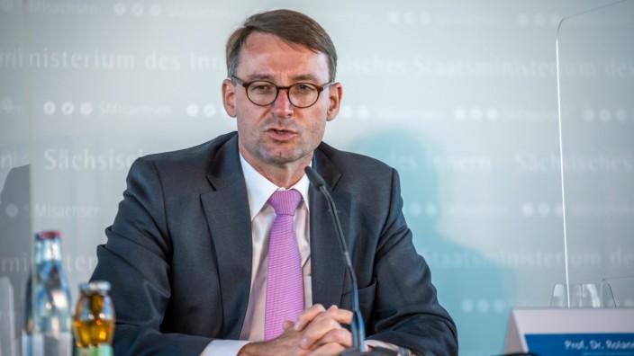 Roland Wöller, CDU Innenminister Sachsen  - Ostdeutsche Innenminister treffen sich zu Sicherheitskonferenz in Leipzig