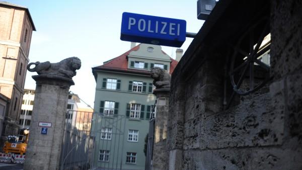 Polizeipräsidium in München, 2020