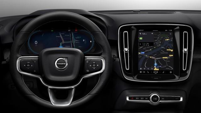 Der neue vollelektrischen Volvo XC 40