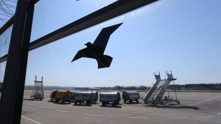 Coronavirus - Flughafen Memmingen