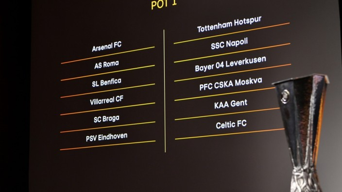 Europa League - Group Stage Draw