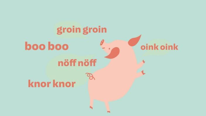 Peppa Wutz: Ein Schwein quiekt doch, oder?