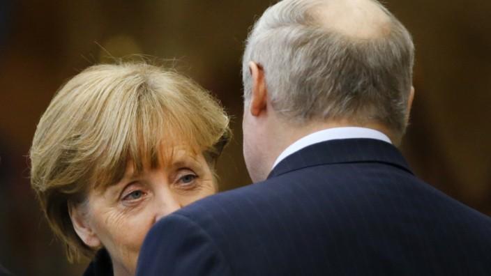 Angela Merkel, Alexander Lukashenko