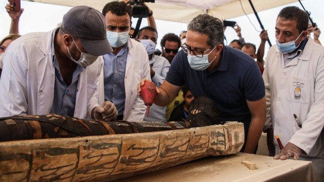 Archäologische Entdeckung in Ägypten