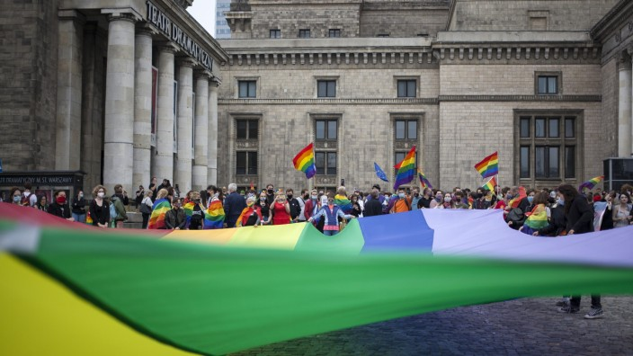 Equality March And Anti-LGBT Protests In Warsaw