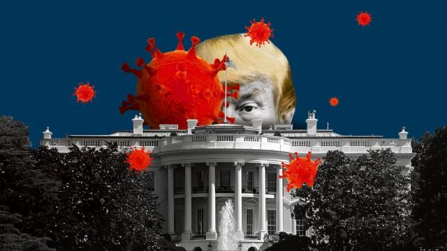 Trump, Corona White House, Weißes Haus