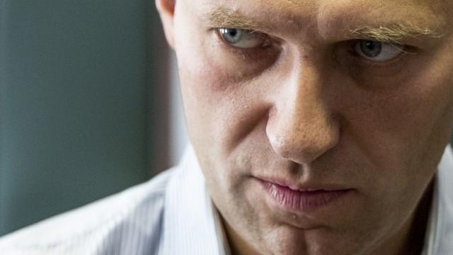 Oppositionsführer Nawalny