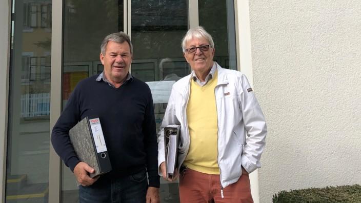 Gerhard Knülle und Willi Welte starten ein zweites Bürgerbegehren gegen Gymnasiumsstandort Herrsching . Foto: privat