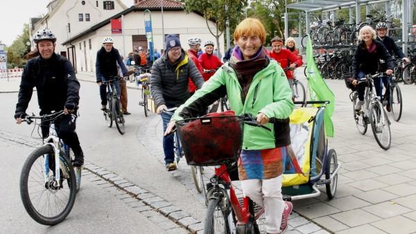 SPD Herrsching auf Radltour