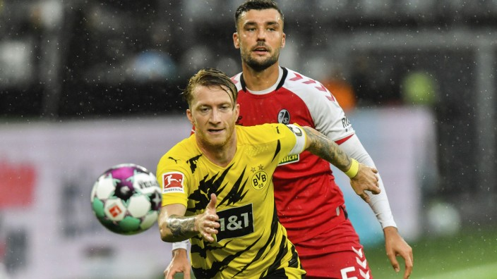 BVB-Spieler Marco Reus gegen den SC Freiburg