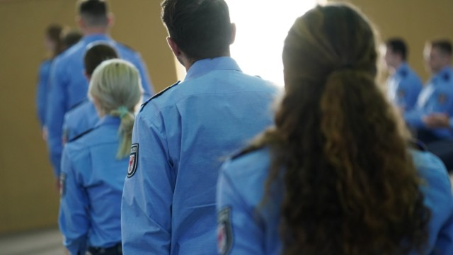 Police Swear In New Cadets In Brandenburg State