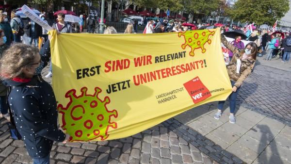 Warnstreiks im öffentlichen Dienst - Hannover