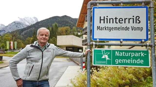 Ortsvorsteher Hinterriß Manfred Reindl Vomp Karwendel