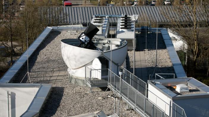 Teleskop Garching Max-Planck-Gesellschaft für Extraterrestrische Physik