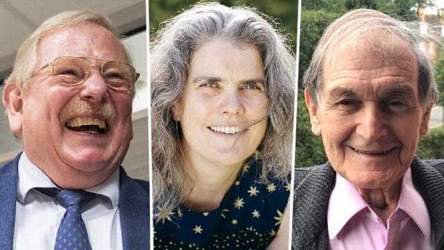 Physik-Nobelpreis: Die Physiknobelpreisträger des Jahres 2020: Reinhard Genzel, Andrea Ghez und Sir Roger Penrose