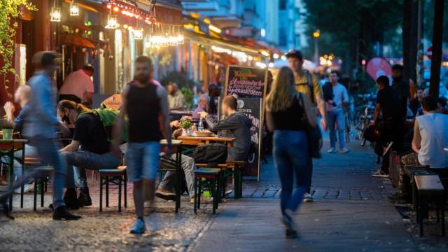 Nachtschwärmer in Berlin