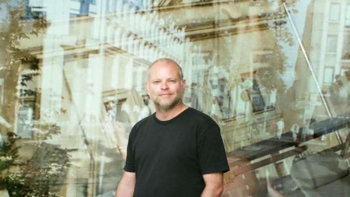 Der Schriftsteller Kristof Magnusson