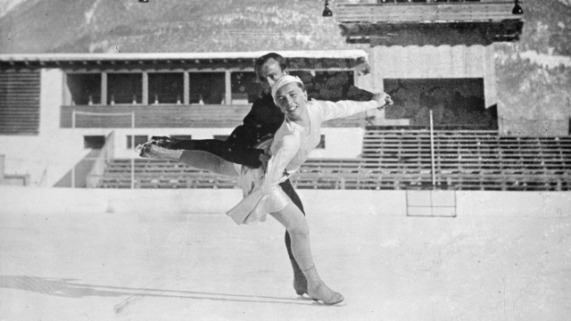 Glass plate mono negative EU PLANET40563 Germany To skate for Germany at Olympic Games Olympische Spiele Olympia OS . E; Sport in der Region