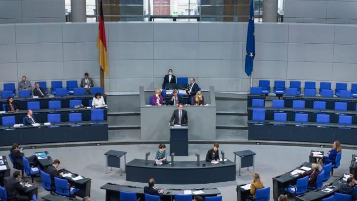 Berlin, Plenarsitzung im Bundestag Deutschland, Berlin - 07.10.2020: Im Bild ist Andreas Scheuer (Bundesminister für Ver