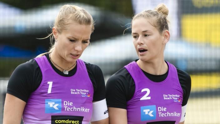 Beachvolleyball - Kim Behrens und Cinja Tillmann