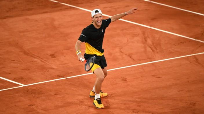 Diego Schwartzmann bei den French Open 2020