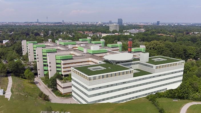 Geplanter Anbau des Klinikums in Bogenhausen